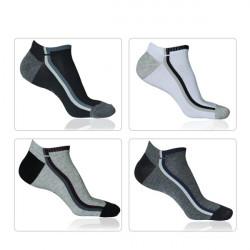 Men's Classic Cotton Sports Trainer Socks 4 Colors Free Size
