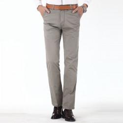 Mens Classic Slim Fit Cotton Business Casual Dress Pants