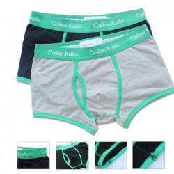 Men's Cotton Green Edge Mid-rise Stretchable Underwear