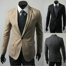 Men's Fashion Casual Slim Fit Elegant Suit