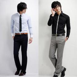 Herrenmode beiläufig passende elegante Anzughose