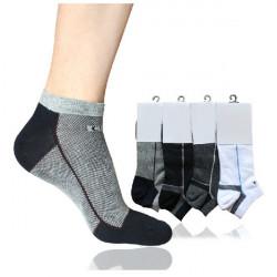 Herrenmode Hoch Elastizität Baumwollbeiläufiges Socken