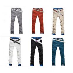 Mænds Mode Koreanske Casual Straight Slim Bukser Bukser