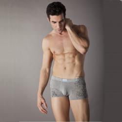 Män Mode Printing Design Solid Färg Modal Underkläder