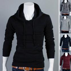 Herrenmode Schlank Sweatshirt Pullover 5 Farben Sweater