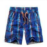 för Män Grid Fritid Plus-size Beach Shorts Snabbtorkande Byxor Herrkläder