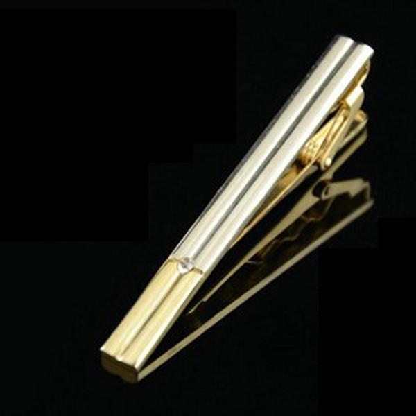 Herren Lavalier Krawattenklammer Silber Herrenbekleidung
