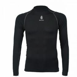 Män Snabbtork Långärmad  Mjuk T-Shirt
