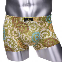 Mens Soft Boxer Briefs Smooth Breathable Underwear