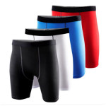 Mens Sports Tight Shorts Fitness Training Slim Breeches Men's Clothing