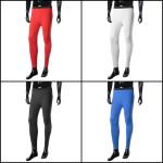 Mäns Sportwear Långbyxor Soft Quick Dry Tights Leggings Herrkläder