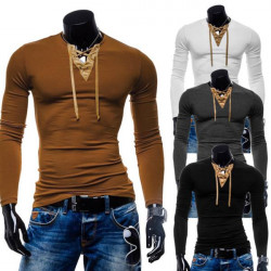 Mens Suede Stitching Shirt Classic Casual Cotton Long-Sleeved Shirts
