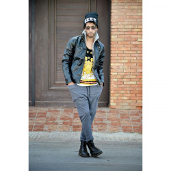Men's Three-dimensional Pocket Decorated Trousers Casual Harem Pants