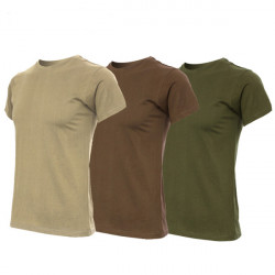 Mens Training Short-sleeve T-shirts Casual 100% Cotton Sportwear