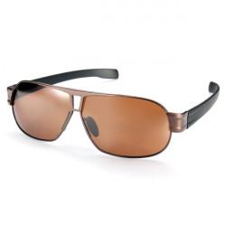Herren UV4OO polarisierte Linse Sonnenbrillen Metallrahmen Brillen