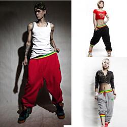 Mens Womens Casual Sport Hip-Hop Dance Harem Pants