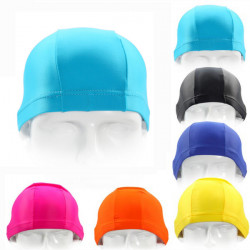 Herrer Damer Multi Color Hatte Nylon Swimming Cap Kaskets