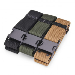 Military Men Belt Tactical Nylon Canvas Outside Army Trouser Buckle Strap