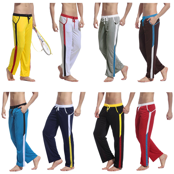 Quick Drying Mens Low-waist Sport Pants 8 Color Men's Clothing