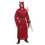 Red Devil Red Höllenengel Halloween Umhang Kostüm König Bull Kleidung Herrenbekleidung
