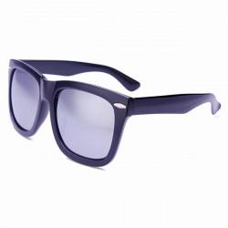 Retro Polarise Lens Rivet Solglasögon Mirrored Glasögon för Man Kvinna