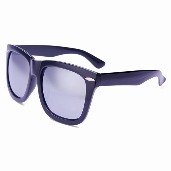 Retro polarisierte Linse Niet Sonnenbrille Spiegelbrillen nach Männlich Weiblich Herrenbekleidung