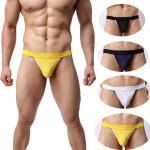 Sexy Herren G String Mode Transparent Briefs beiläufigen Breathable Thongs Herrenbekleidung