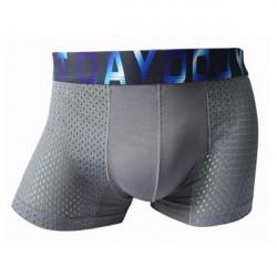 Sexig Natural Midja Sports Modal Underkläder Intimate Retroboxershorts Herr