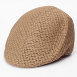 Sommar Skärmmössa Newsboy Hat Golf Cabbie Ventair Beret Hat