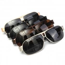 UV400 Männer polarisierten Sonnenbrillen Outdoor Metallrahmen Driving Gläser