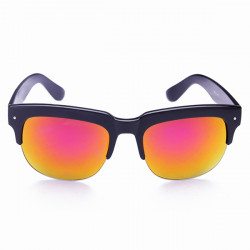 UV4OO Polarise Lens Solglasögon Halv Frame Glasögon för Man Kvinna