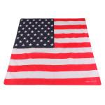 Unisex Amerika Flaggen Muster Hip Hop Mode Bandanas Kopftuch Herrenbekleidung
