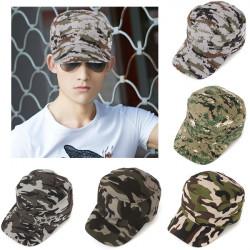 Unisex Män Kvinnor Armé Kamouflage Militär Soldat Hatt Sport Keps Jungle