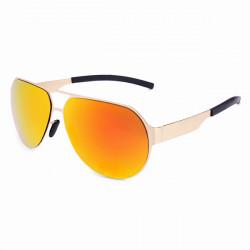 Unisex UV400 Aviator polarisierten Sonnenbrillen Fahren Metall Gläser