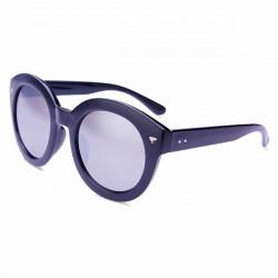 Weinlese polarisierte Runde Sonnenbrille Mirrored Kreis Rahmen Brillen