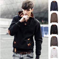 Winter Männer Pullover Cotton Jacken Hip Hop Sportwear Hoodies