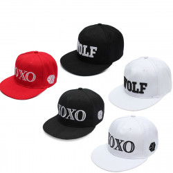 XOXO Hat Peak Cap Hip Hop Beanie Snapback Adjustable Cap