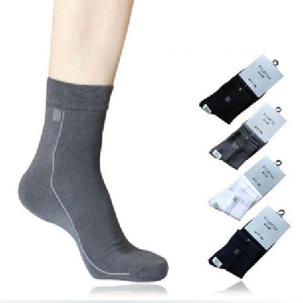 YILANLU Mäns Bamboo Fiber Socks Kombination 4 Färger Herrkläder