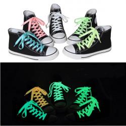 142 CM Mænd Kvinder Fluorescent Snørebånd Funny Luminous Garn Sko Laces