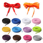 14 Kinds Of Colourful Athletic Shoe laces For Sport Sneakers Flats Men's Shoes