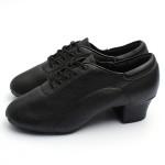 Adult Mens Ballroom Latin Tango Dance Shoes heeled Men's Shoes