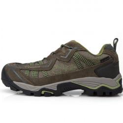 CLORTS Men Waterproof Walking Hiking PU Sport Outdoor Shoes