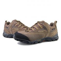 CLORTS Men's Brown Multi Sport Trail Running Ventilator Hiking Shoes