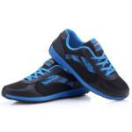 DELOCRD Herren Anti Rutsch Tragbare Lace Up Plus Size Netzlaufschuhe Herren Schuhe