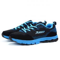 DELOCRD Mens Running Sports Soft Portable Non-Slip Mesh Shoes