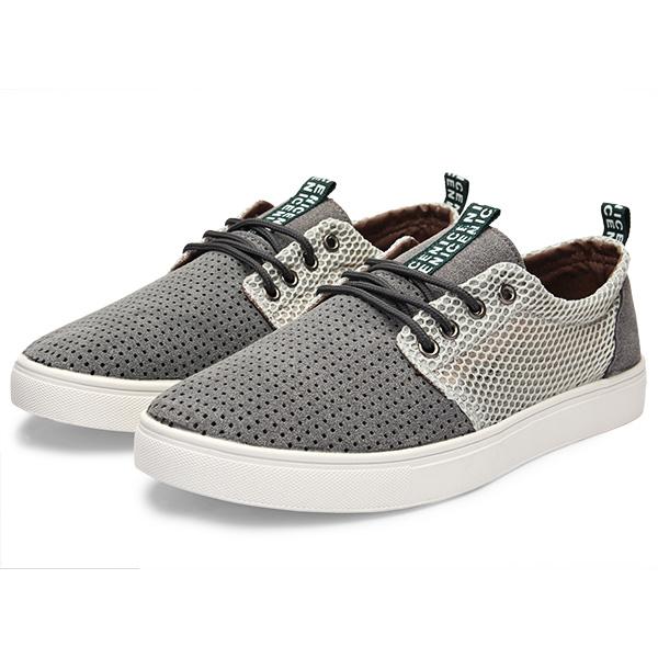 Arbeiten Sie Breathable Herren Schuhe Low Top zufällige Turnschuhe Herren Schuhe