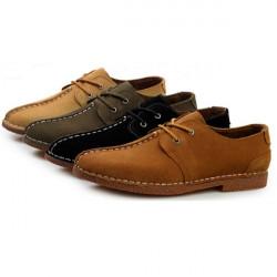 Herren britischen Freizeit Mode Plüsch Lederhandarbeit Schuhe