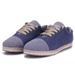 Herre Casual Åndbare Jeans Canvas Sko Sneakers Herresko