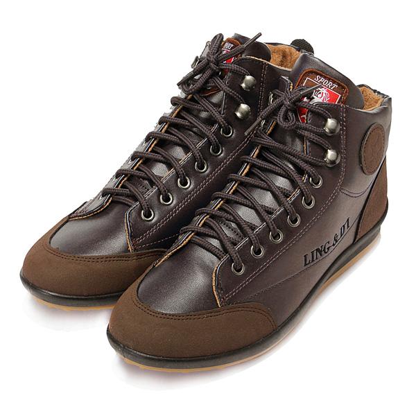 Men's Casual Sneaker  Ankle Boots Lace Up Shoes Men's Shoes