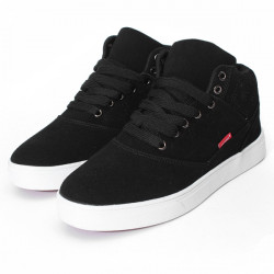 Män Casual Varm Mocka Lace Upp Sneakers New Mode Skor